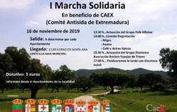 I Marcha Solidaria en beneficio de CAEX