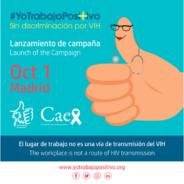 #YoTrabajoPositivo Sin discriminación por VIH