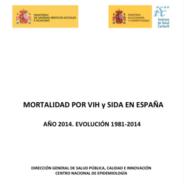 Mortalidad por VIH y sida en España. Evolución 1981-2014