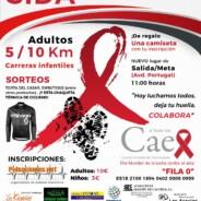 Más de 300 deportistas corren en Cáceres contra el Sida